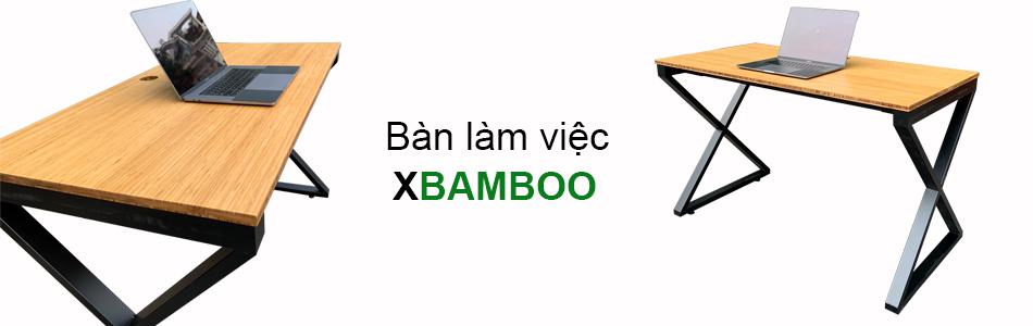 bàn làm việc Xbamboo