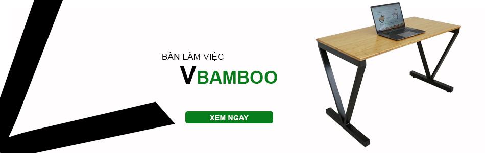bàn làm việc hệ Vbamboo
