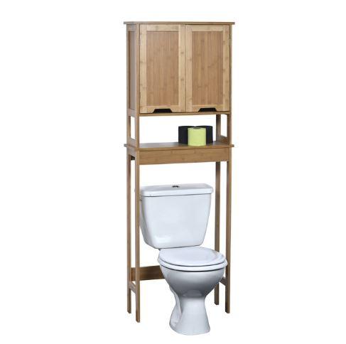 Kệ toilet gỗ tre