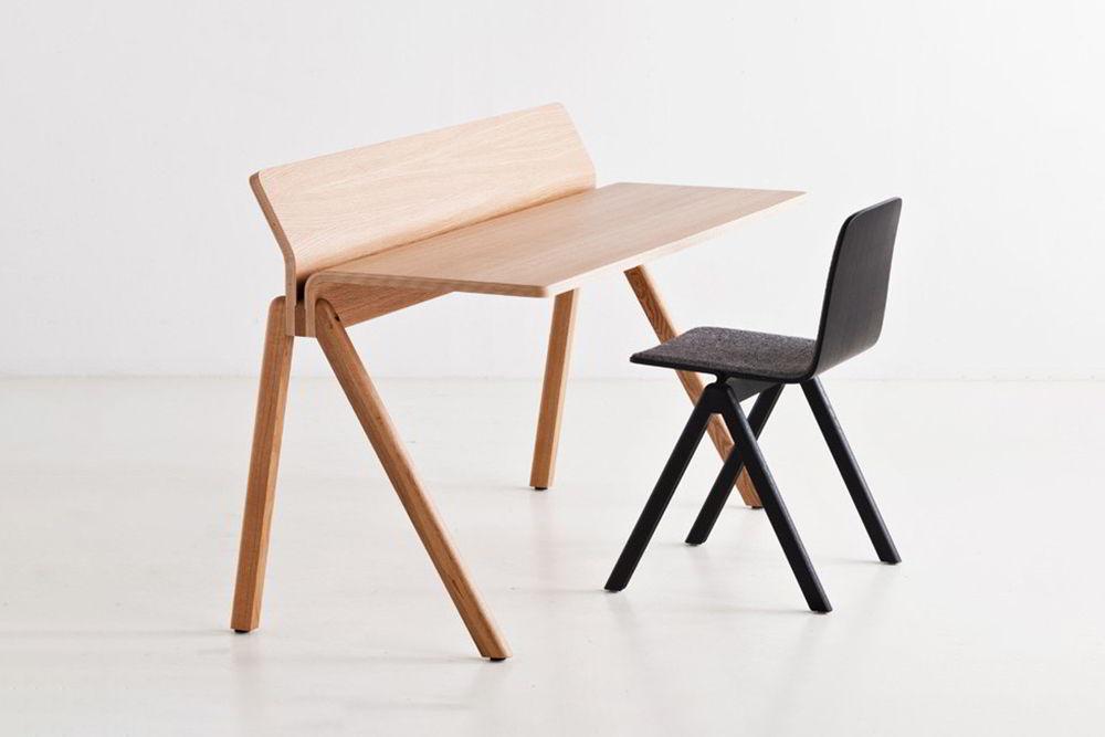 bàn làm việc gỗ sáng tạo
