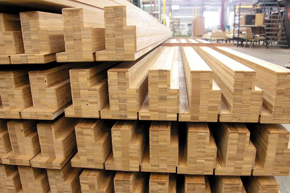 báo giá ván gỗ tre ép thanh nguyên liệu