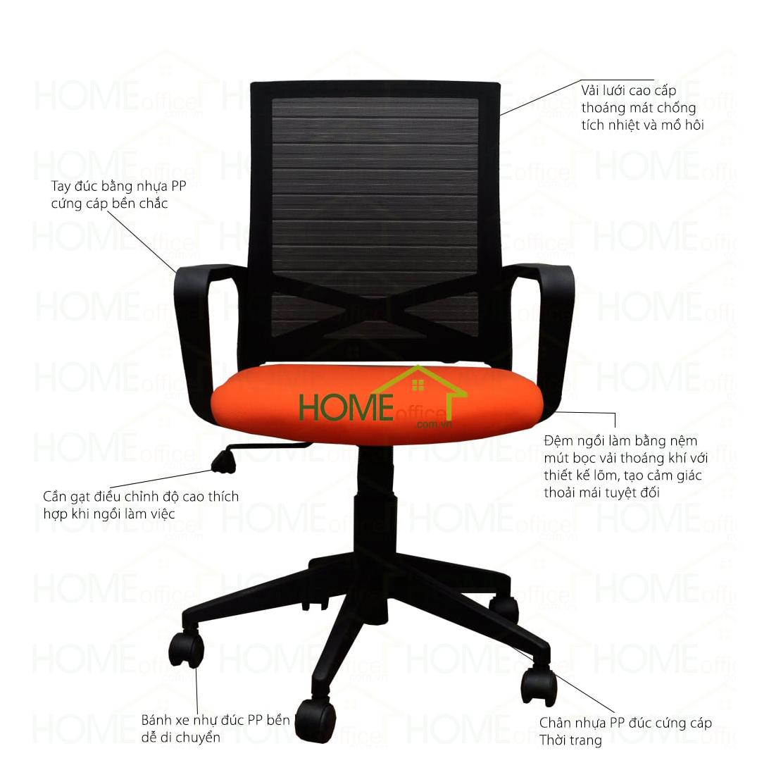 ghế chân xoay bánh xe