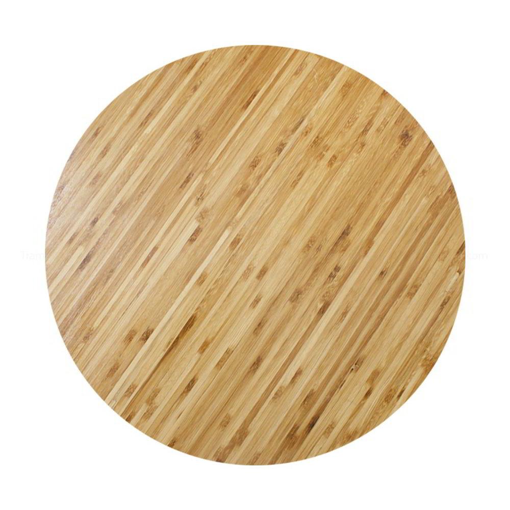 Mặt bàn gỗ tre ép tròn đường kính 60cm