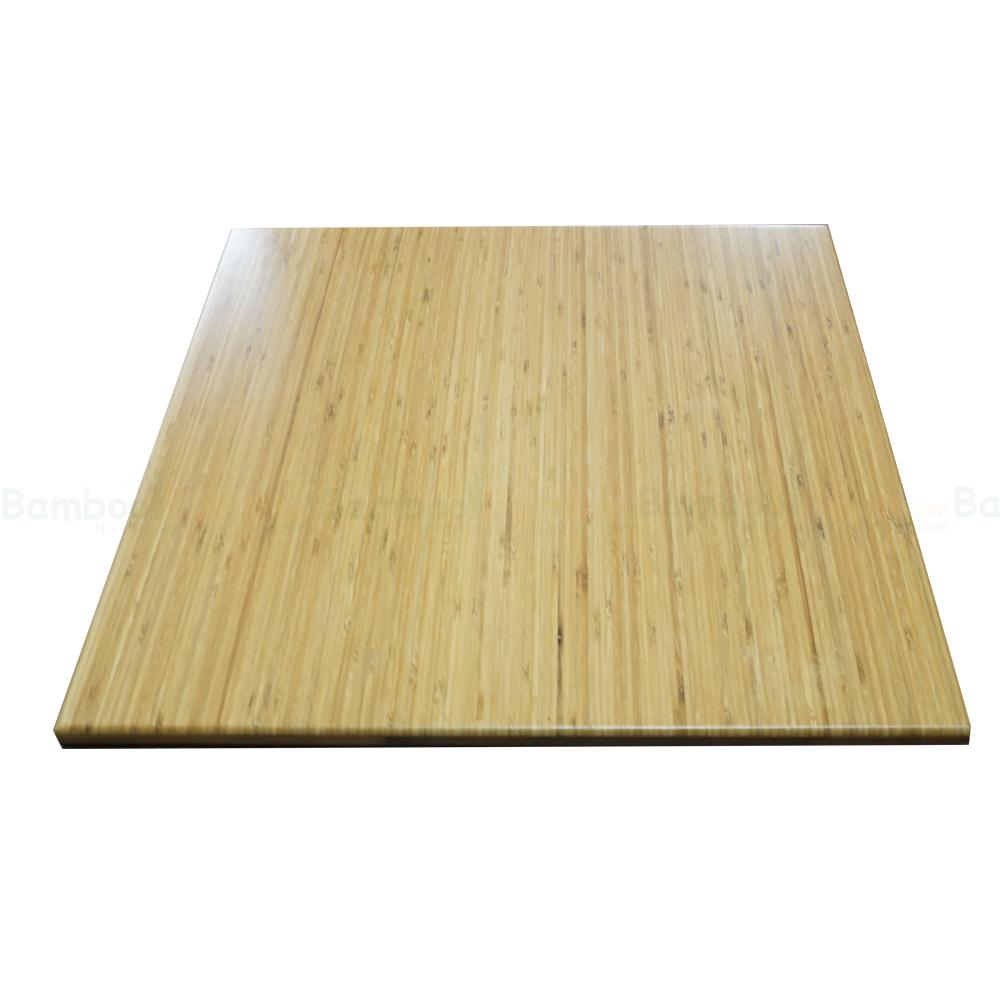 Mặt bàn tre vuông 60cm dày 18mm