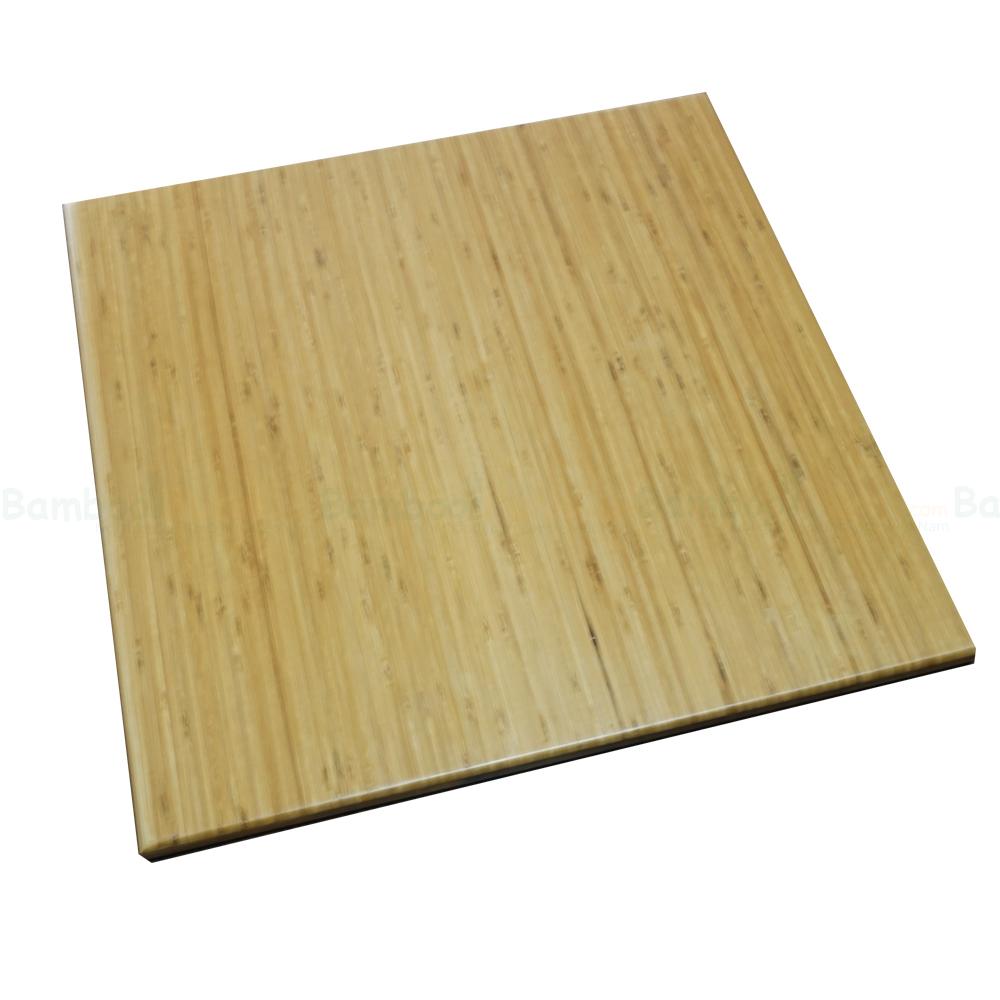 Mặt bàn tre vuông 60cm dày 25mm
