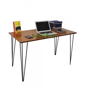 bàn làm việc gỗ tre ghép