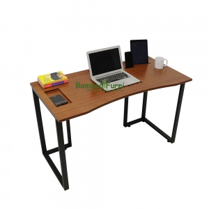 ZB002- Bàn công nghệ gỗ tre zBamboo màu cánh gián chân L