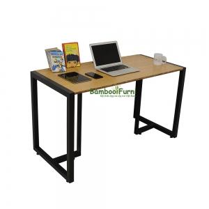 SB009a - Bàn làm việc đơn giản gỗ tre ghép S Bamboo - 120x60x75 (cm)