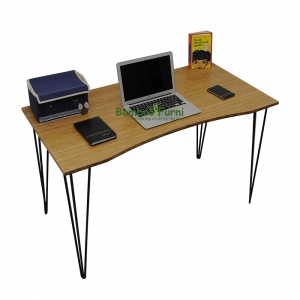 bàn làm việc gỗ tre ghép tấm s bamboo sb003