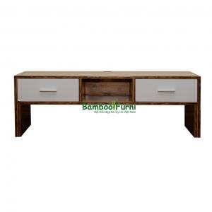 BTV001 - Kệ tivi gỗ tre ghép - 120x40x40 (cm)