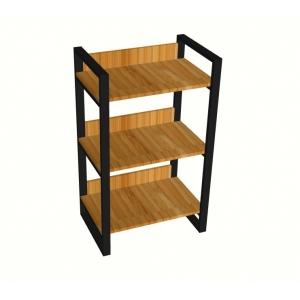 BFKTT001 - Kệ gỗ Bamboo khung sắt