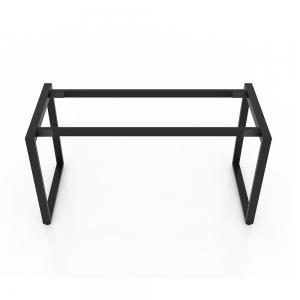 BFCBCN03 - Chân bàn làm việc sắt 25x50 kích thước 140x70 (cm)