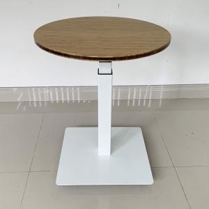 FB008 - Bàn Flexibamboo 3 khớp, mặt bàn tre tròn
