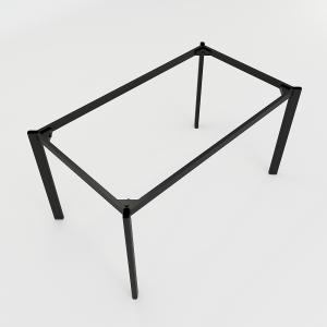 BFCBOV07 - Chân bàn làm việc sắt Oval 140 x 80 (cm)