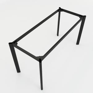 BFCBOV03 - Chân bàn làm việc sắt Oval 140x60 (cm)