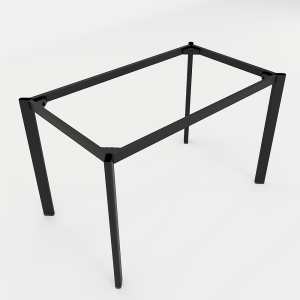 BFCBOV04 - Chân bàn làm việc sắt Oval 120x70 (cm)