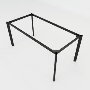 BFCBOV08 - Chân bàn  sắt Oval 160x80 (cm)