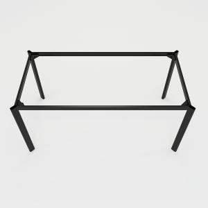 BFCBOV09 - Chân bàn họp sắt Oval 180x90 (cm)