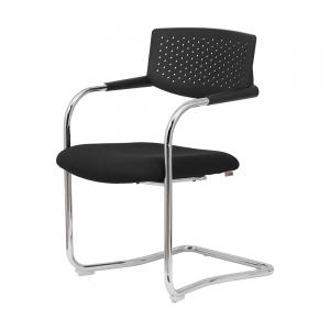 BFGCQ034 - Ghế nệm chân quỳ lưng nhựa cho phòng họp