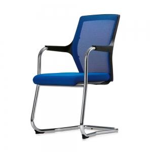 Ghế nệm chân quỳ lưng lưới cho phòng họp ROBIN BFGCQ016
