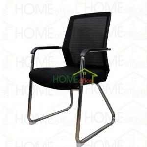 Ghế chân quỳ nhân viên văn phòng lưới màu đen