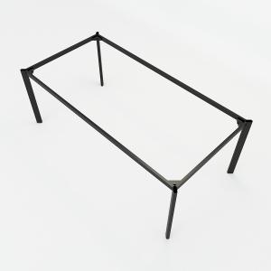 BFCBOV10 - Chân bàn họp sắt Oval 200x100 (cm)