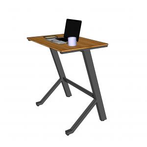 BFSTB005 - Bàn làm việc đứng StaBamboo 100x60cm chân chữ Y lắp ráp