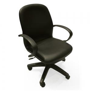 BFGVP049 - Ghế xoay văn phòng lưng nệm chân nhựa