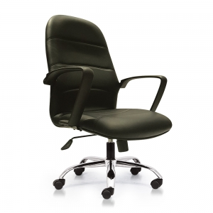 BFGVP050 - Ghế xoay văn phòng lưng nệm chân nhựa