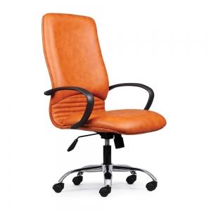 BFGVP031 - Ghế nệm lưng cao văn phòng chân sắt