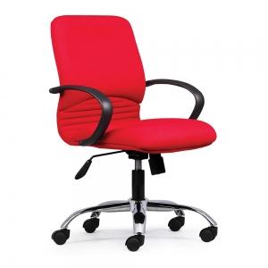 BFGVP033 - Ghế xoay văn phòng lưng nệm chân nhựa