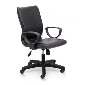 BFGVP042 - Ghế xoay văn phòng lưng nệm chân nhựa
