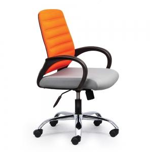 BFGVP029 - Ghế xoay văn phòng lưng nệm chân sắt