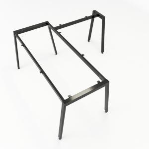 CBAT020 - Chân bàn chữ L 160x160 hệ Aton Concept lắp ráp