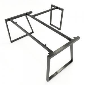 CBTH020 - Chân bàn chữ L 160x160 hệ Trapeze II Concept lắp ráp