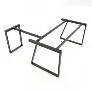 CBTH021 - Chân bàn chữ L 180x160 hệ Trapeze II Concept lắp ráp