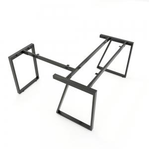 CBTH017 - Chân bàn chữ L 140x140 hệ Trapeze II Concept lắp ráp