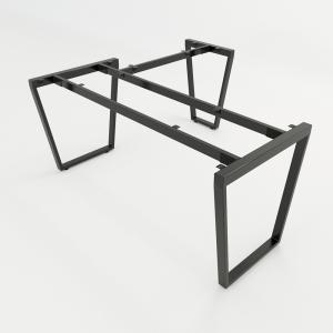 CBTC019 - Chân bàn chữ L 160x140 Trapez Concept lắp ráp