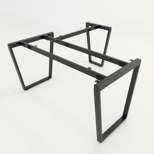 CBTC018 - Chân bàn chữ L 140x150 Trapez Concept lắp ráp