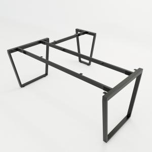 CBTC022 - Chân bàn chữ L 180x160 Trapez Concept lắp ráp