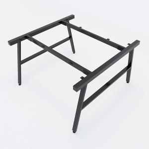 CBAC014 - Chân bàn cụm 2 120x120 hệ AConcept lắp ráp