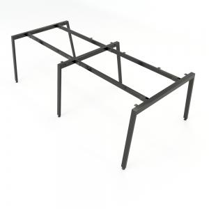 CBAT015 - Chân bàn cụm 4 240x120 hệ Aton Concept lắp ráp