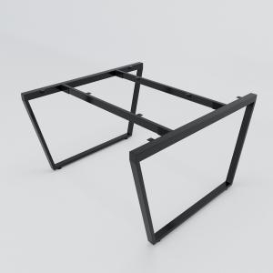 CBTC014 - Chân bàn cụm 2 120x120 Trapez Concept lắp ráp