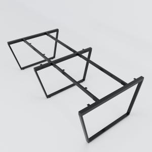 CBTC015 - Chân bàn cụm 4 240x120 Trapez Concept lắp ráp
