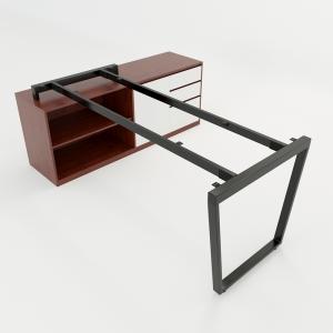 CBTC025 - Chân bàn gác tủ 160x80 Trapez Concept lắp ráp