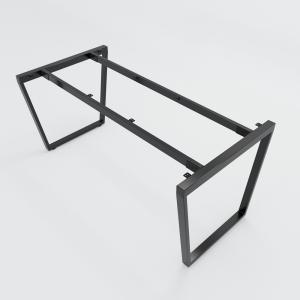 CBTC008 - Chân bàn sắt Trapez Concept 160x80 lắp ráp