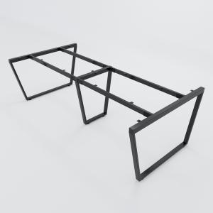 CBTC012 - Chân bàn họp Trapez Concept 240x120 lắp ráp