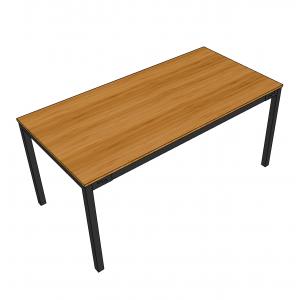 BFBA002 - Bàn ăn gỗ tre 80x160cm chân U lắp ráp
