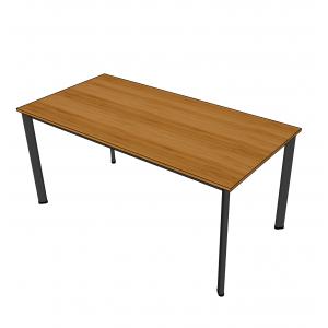 BFBA006 - Bàn ăn gỗ tre 80x160cm chân Oval