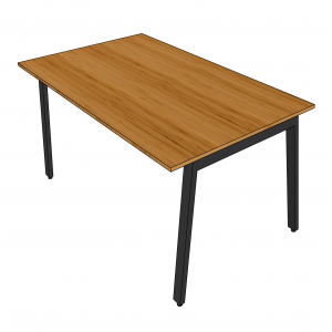 BFBA007 - Bàn ăn gỗ tre 80x140cm chân Aton